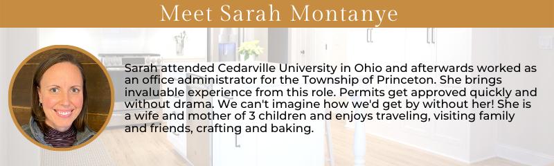 Meet Sarah Montanye
